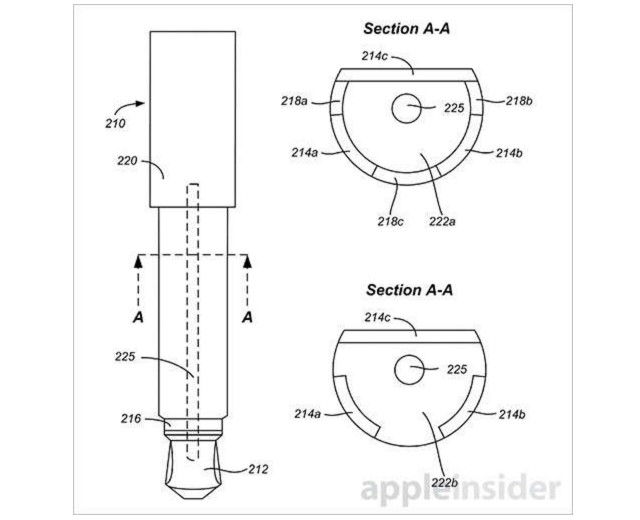 Apple patents unique 2.5mm audio connector for proprietary