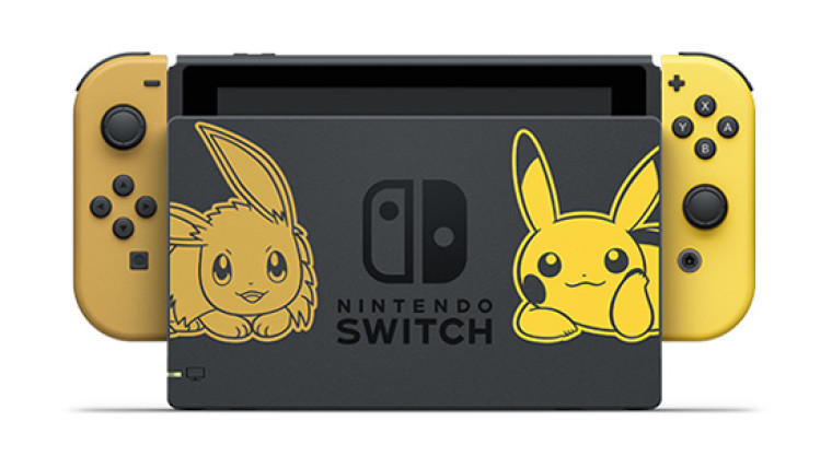 Nintendo To Release Eevee Pikachu Edition Of The Switch