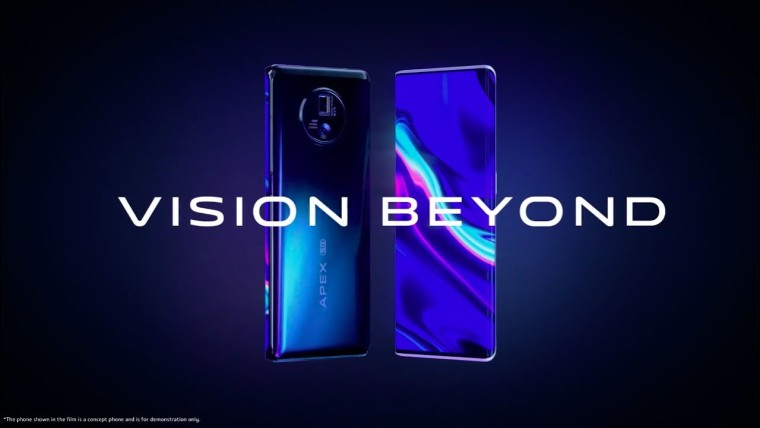 Vivo Apex 2020 features an under-display camera. 60W wireless charging. more - Neowin