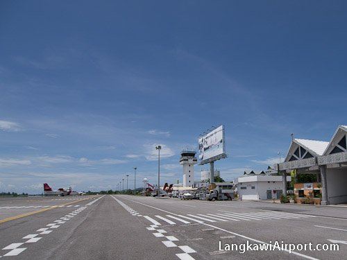 Langkawi Airport Arrivals Area