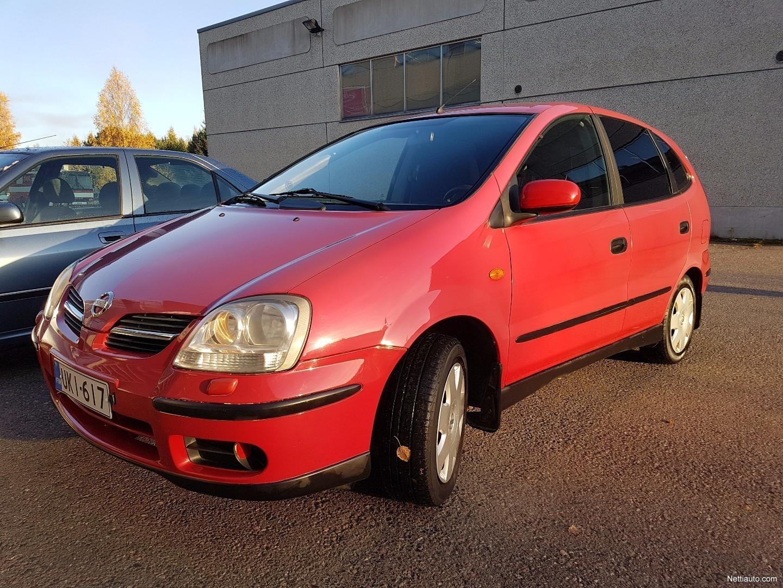 Nissan Almera Tino 1 8 Comfort 5d Punainen Mpv