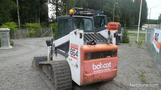 Bobcat 864 Kuormaajat