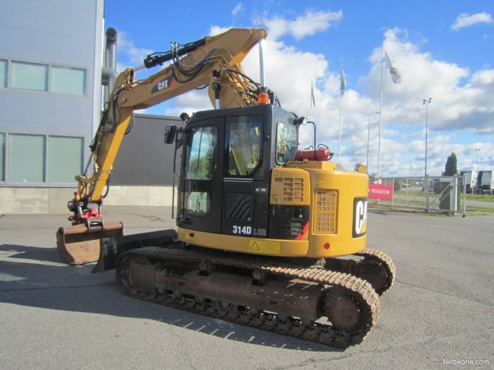 medium resolution of enlarge image excavators caterpillar