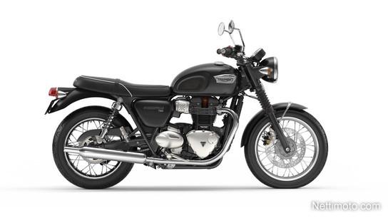 Triumph Bonneville T100 ja T100 Black 900 cm³ 2019