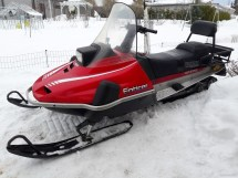 Enticer Snowmobile - Year of Clean Water