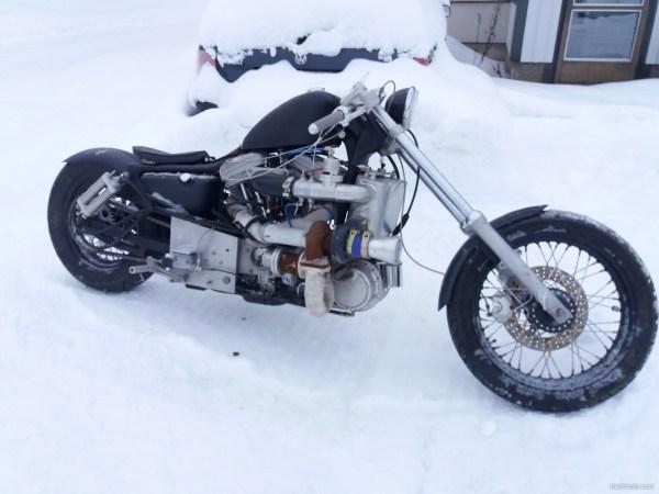 Harley Davidson Sportster 1400 Turbo Intercooler Vaihto 1 - Year of