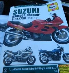 suzuki gsx 750 f  [ 1440 x 1080 Pixel ]
