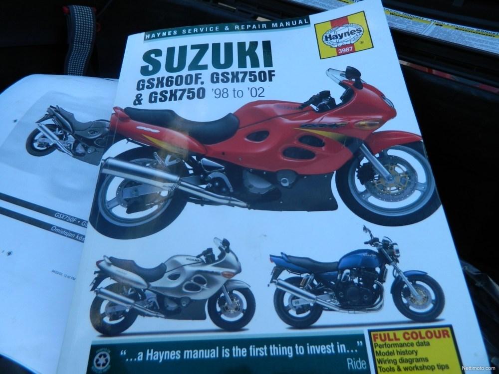 medium resolution of suzuki gsx 750 f