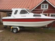 Flipper 580 Cabin Motor Boat 1976 - Mustasaari Nettivene