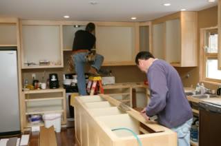 Finish carpenters