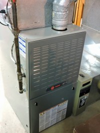 I Needed a New Gas Furnace Install Due to a Cracked Burner ...