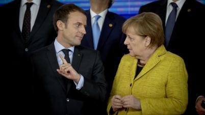 Macron Merkel