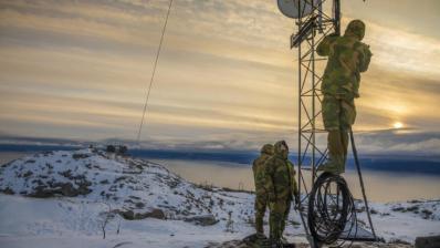 Norwegische Cybertechniker