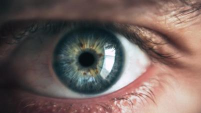 Auge im Closeup
