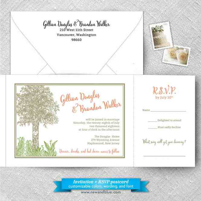 Hope All Inclusive Affordable In One Wedding Invitation Suite