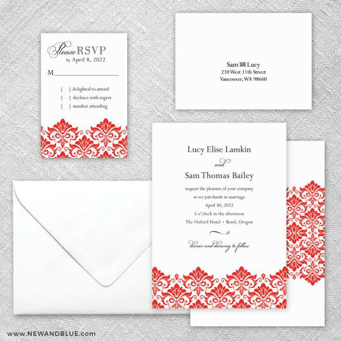 Portland Wedding Invitations