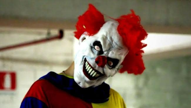 scary clowns say they