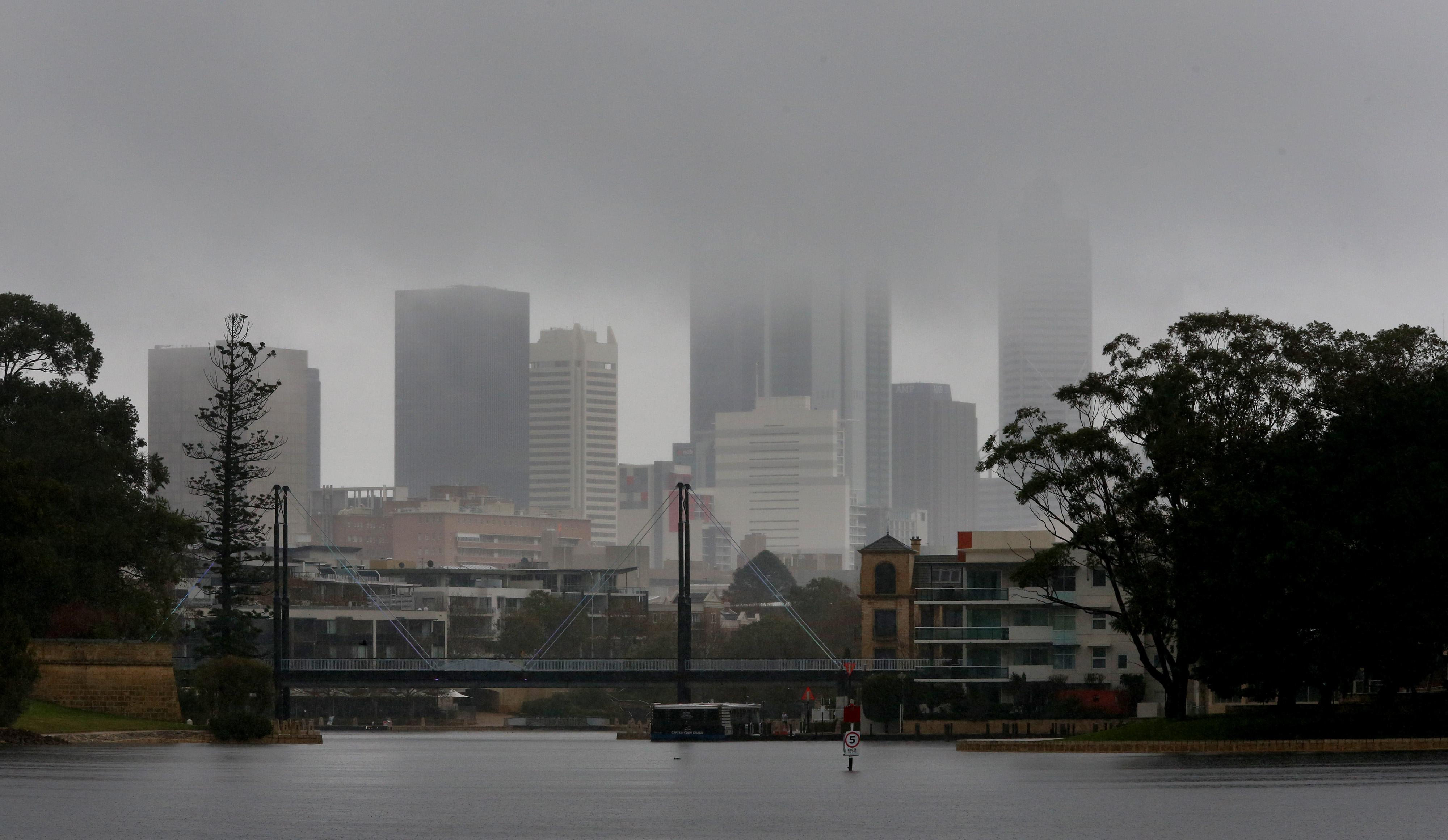 Perth Weather What To Expect And When As Cold Front