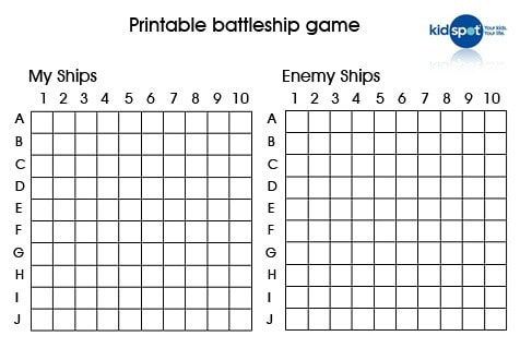 Battleship prinatbles: How to make your own battleship