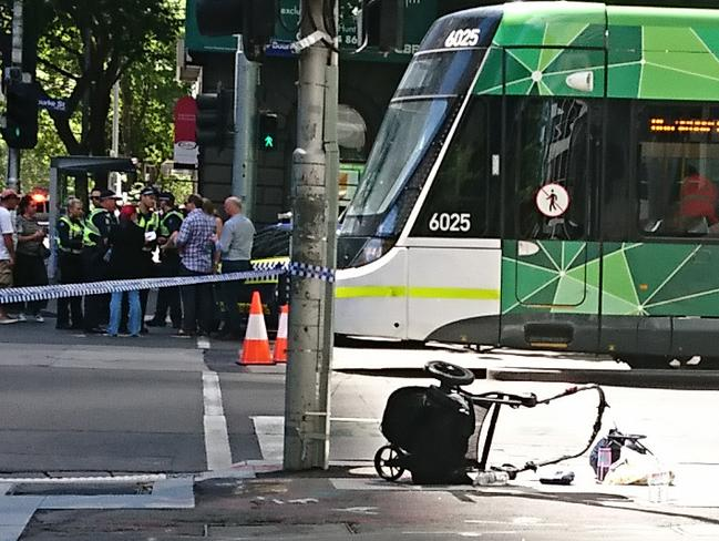 Melbourne Shooting, Bourke St Mall Cbd Car Chase Baby In
