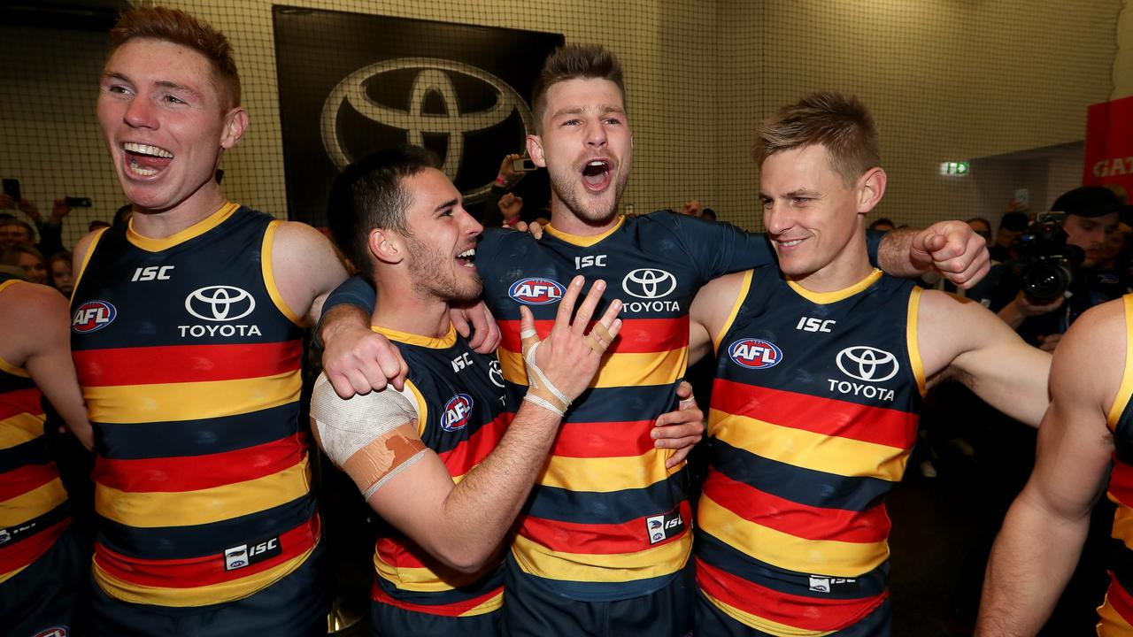 afl adelaide crows bryce gibbs voice of reason at west lakes