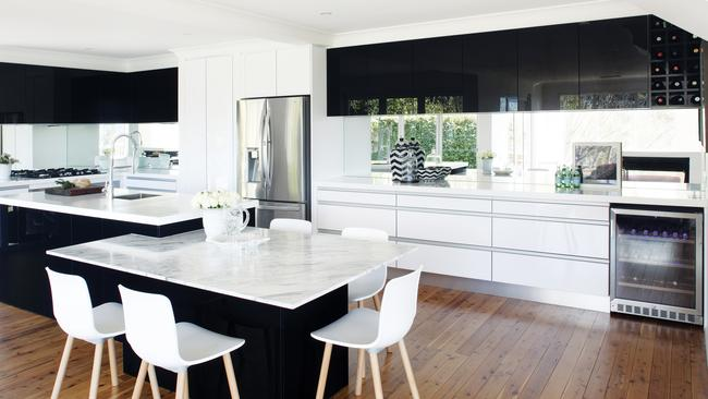 kitchens for less kitchen sink sizes how to get a grip on the best handle your cabinets nothing see drawers help create minimalist look in this sleek