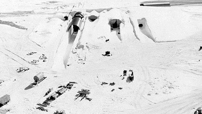 Camp Century: US military project under ice revealed