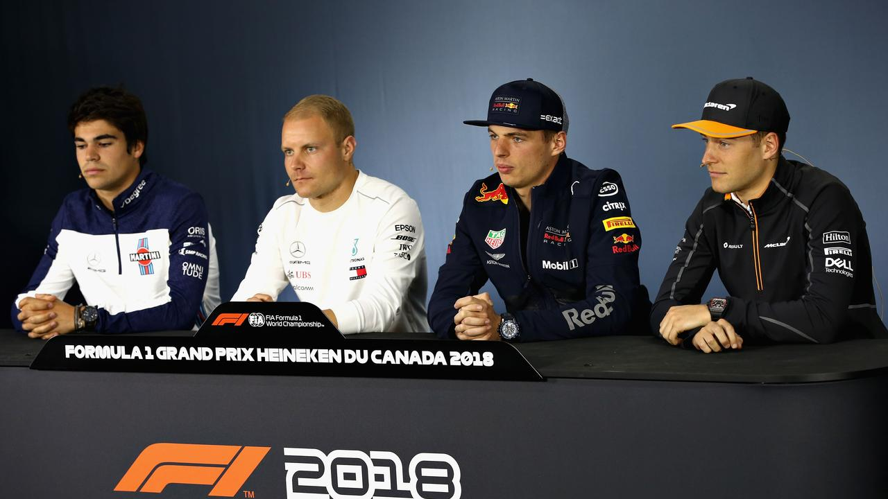 F1 2018 Canada Gp Max Verstappen Threatens To Headbutt