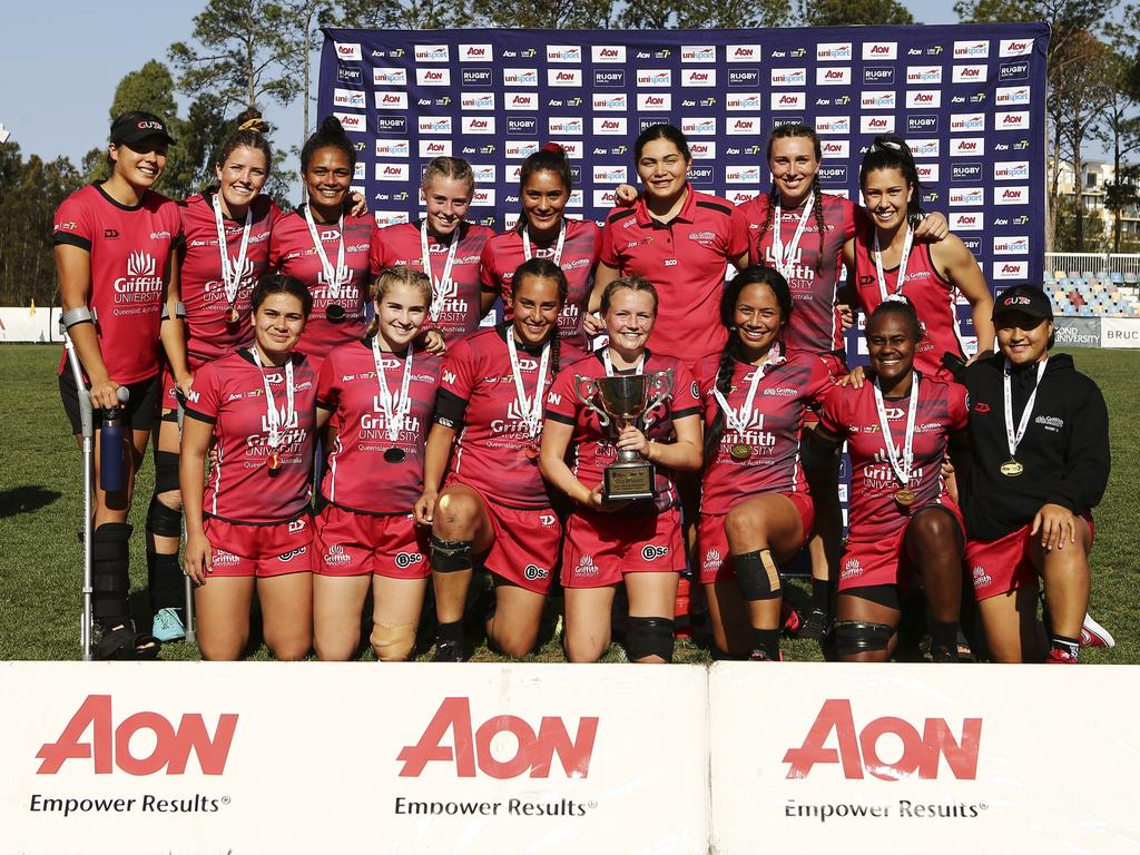 Griffith University Win Gold Medal At Second Aon
