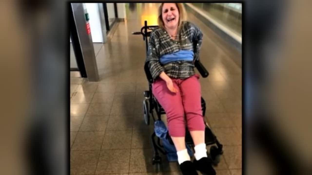 Delta Passenger reportedly tied to wheelchair with dirty