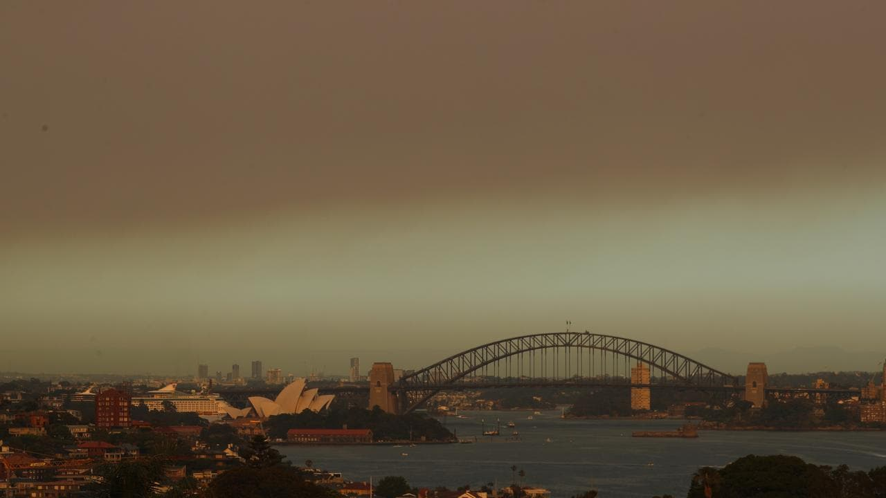 Bushfire Smoke Makes Sydney Air Quality Worse Than Delhi