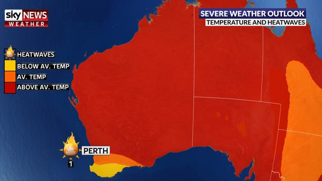 Wa Weather Cooler Summer Predicted For Perth And South