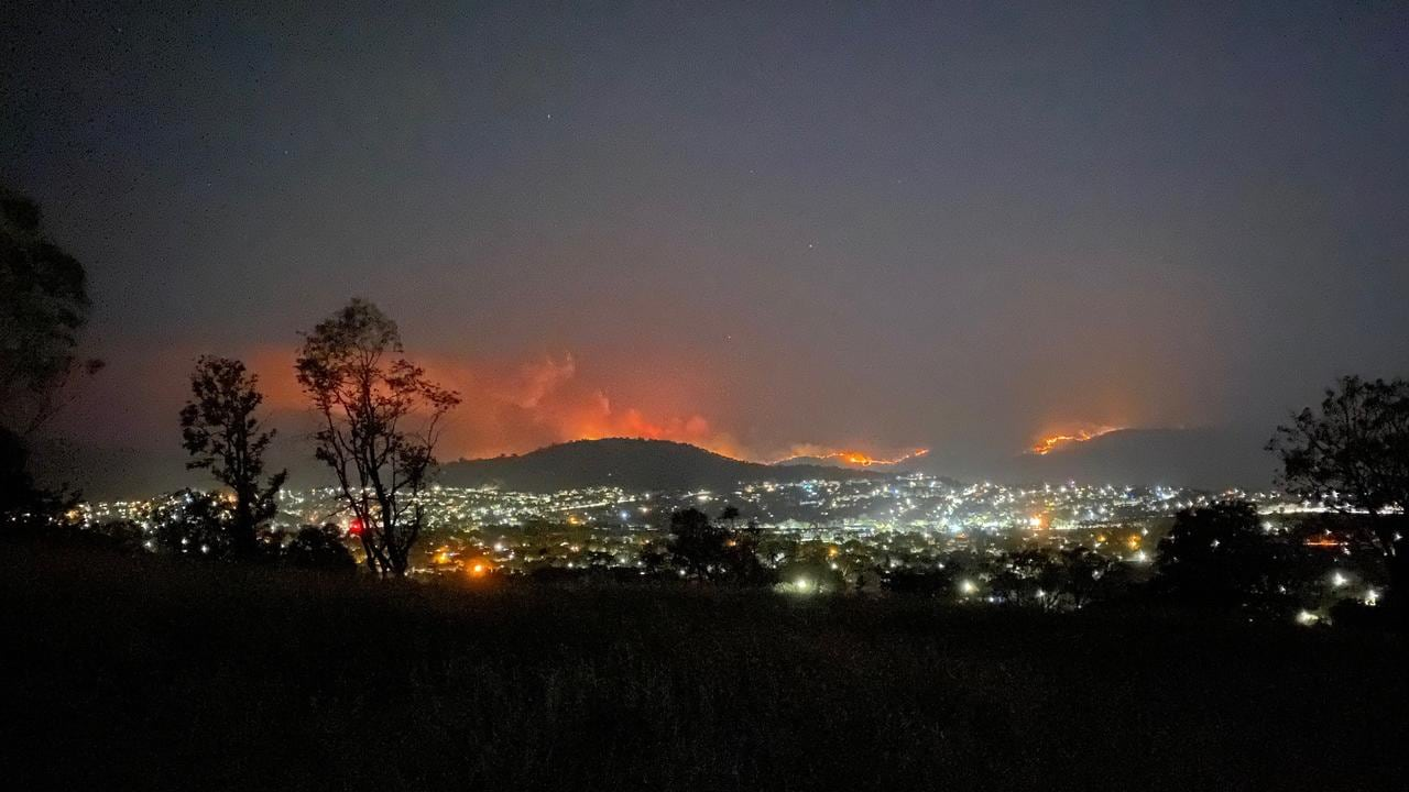 Bushfires Weather Nsw Act Victoria Face High Fire