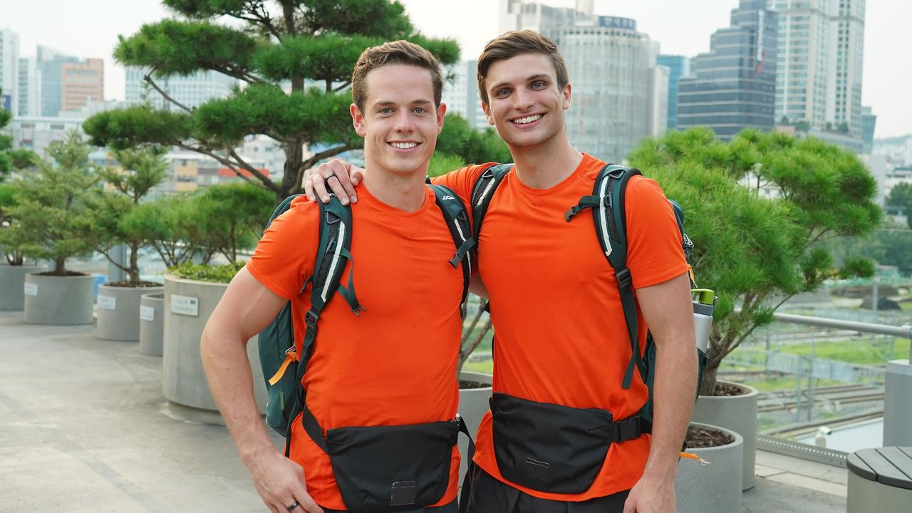 The Amazing Race Australia 2019 Tyler Roos Son Of Afl