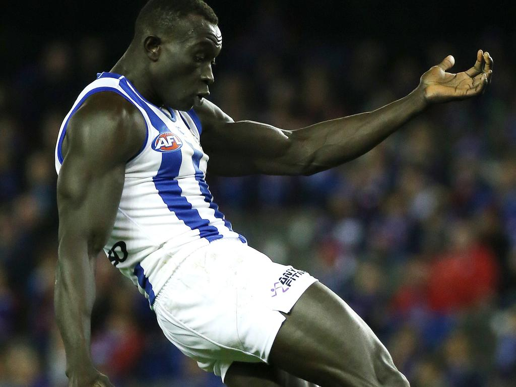Majak Daw Afl Criticised By North Melbourne Legend Wayne