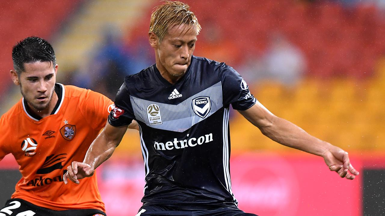 Keisuke Honda Injury Update A League Will Honda Play For Melbourne Victory Against Wellingto