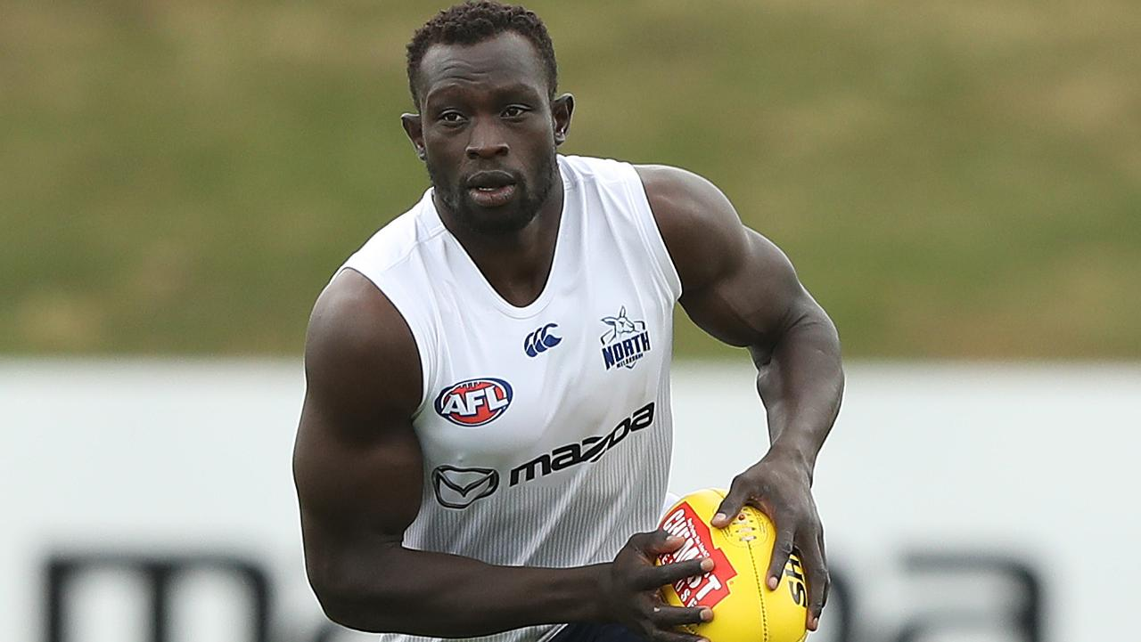 Afl Teams For Pre Season Matches Majak Daw To Return