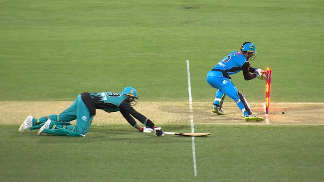 Big Bash Live Scores Brisbane Heat Vs Adelaide Strikers