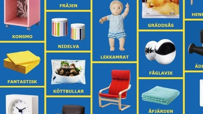 What Those Weird Ikea Product Names Really Mean Daily
