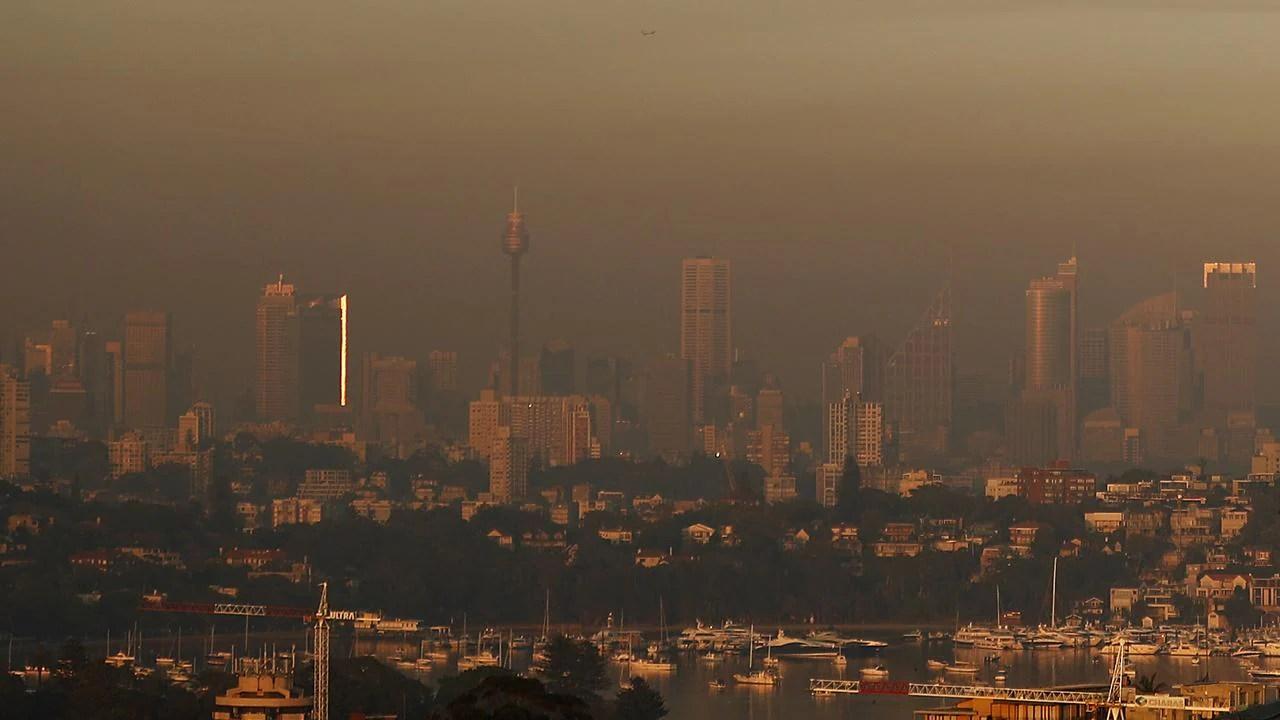 Qld Nsw Sydney Bushfires Photos Show Disastrous Air Quality