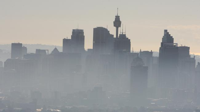 Sydney Pollution Air Quality Monitors Placed Mostly In