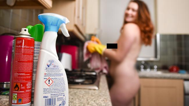 Naked house cleaning Mum paid 73 an hour  The CourierMail