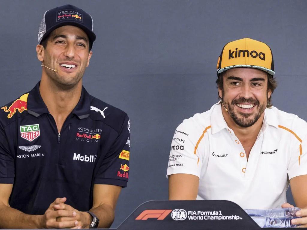 F1 2018 Daniel Ricciardo Rubbished By Red Bull Max