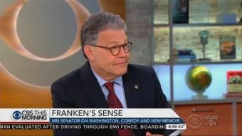'A Complete Delight'; CBS Crew Goes Ga-Ga for Democratic Senator Al Franken