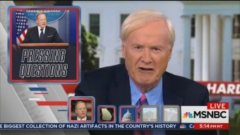 Irony: Matthews Mocks Sean Spicer as 'Generalissimo Franco,' White House as a 'Clown Show'