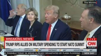 CNN Breaking News: John Kelly Drank Water