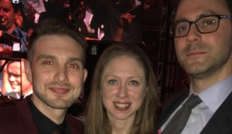 George Soros' Son Parties with Chelsea Clinton and Her Husband at Gala