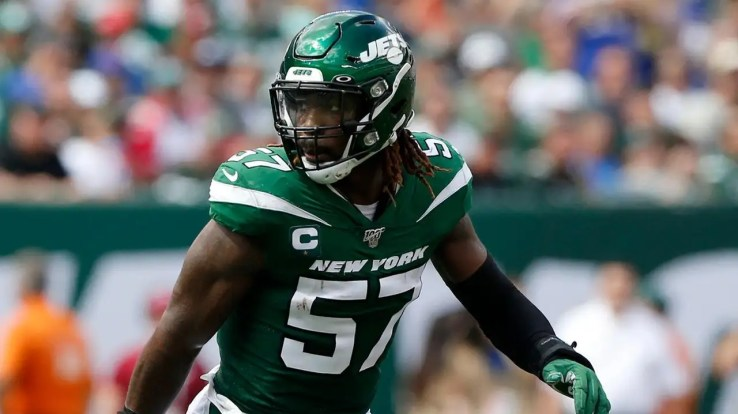 After C.J. Mosley leaves with groin injury, Jets fall apart | Newsday