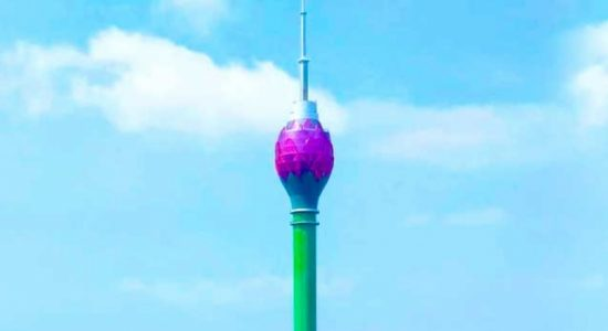 Lotus Tower to be lit in red to honor those combating COVID-19