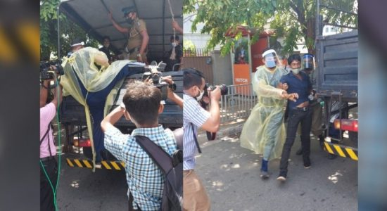 WATCH VIDEO: Police crack whip against anti US protesters in Sri Lanka